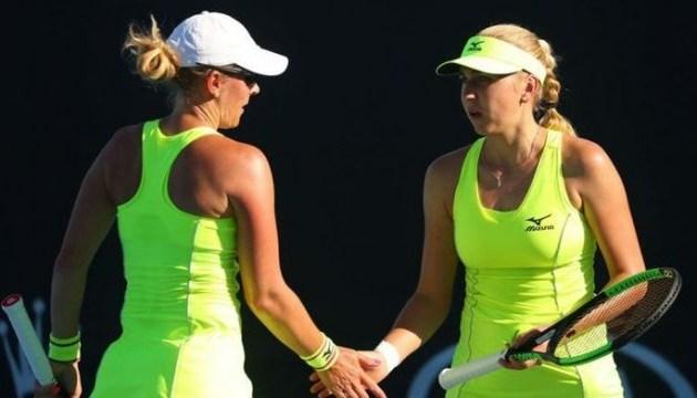 Надежда Киченок с Анастасией Родионовой удачно стартовали на теннисном турнире в Пекине