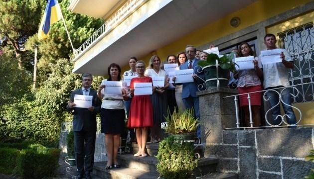 La Embajada de Ucrania en Portugal exige liberar a Súshchenko