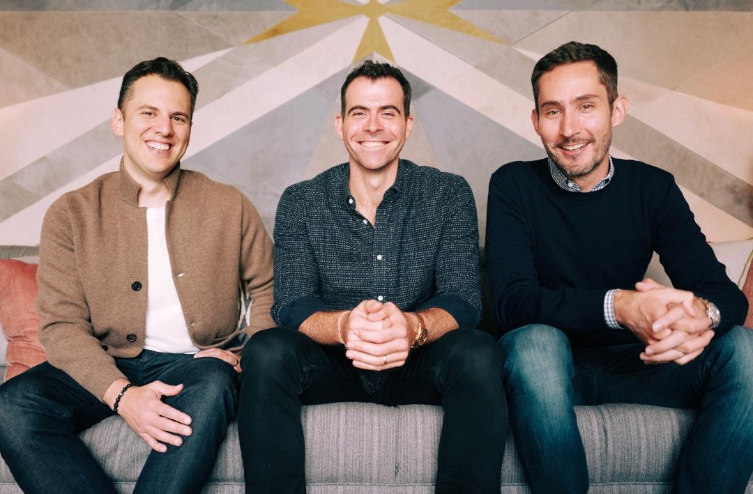 (слева направо) Майк Кригер, Адам Моссери и Кевин Систром