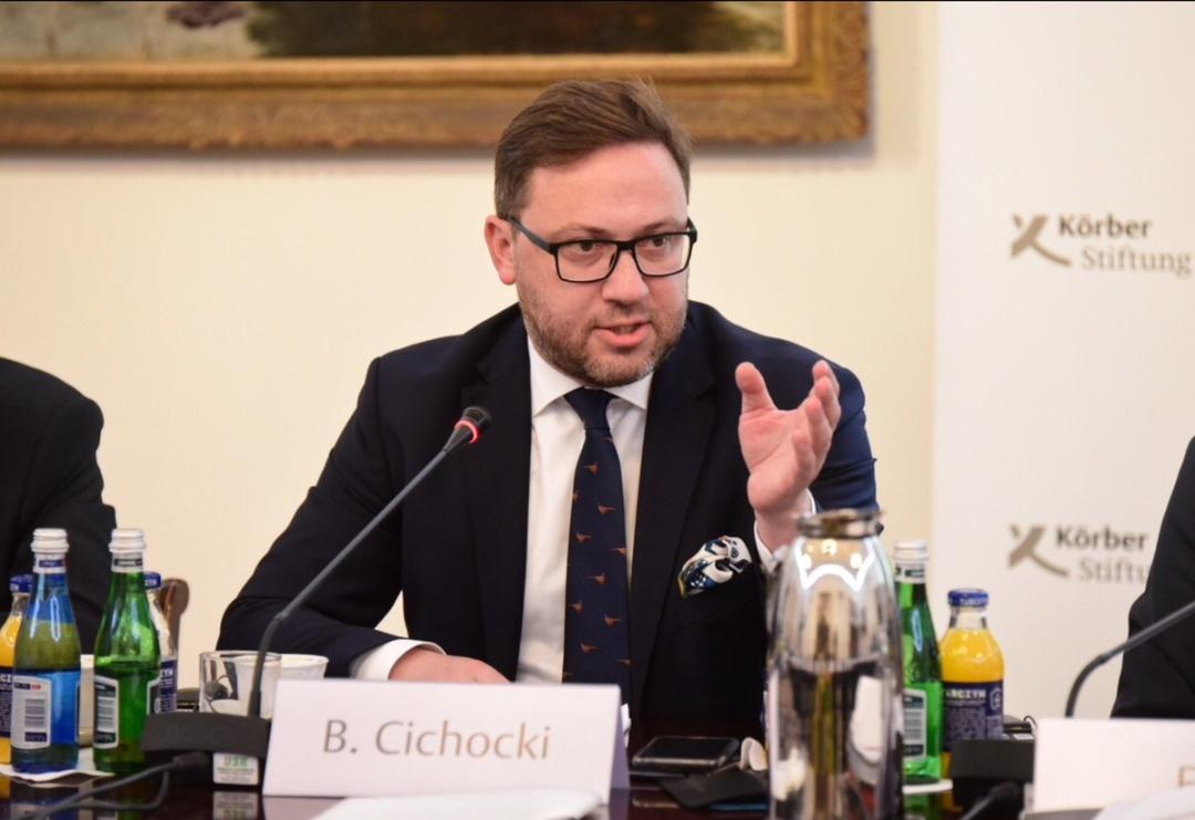 Бартош Ціхоцький. Фото: twitter.com/B_Cichocki