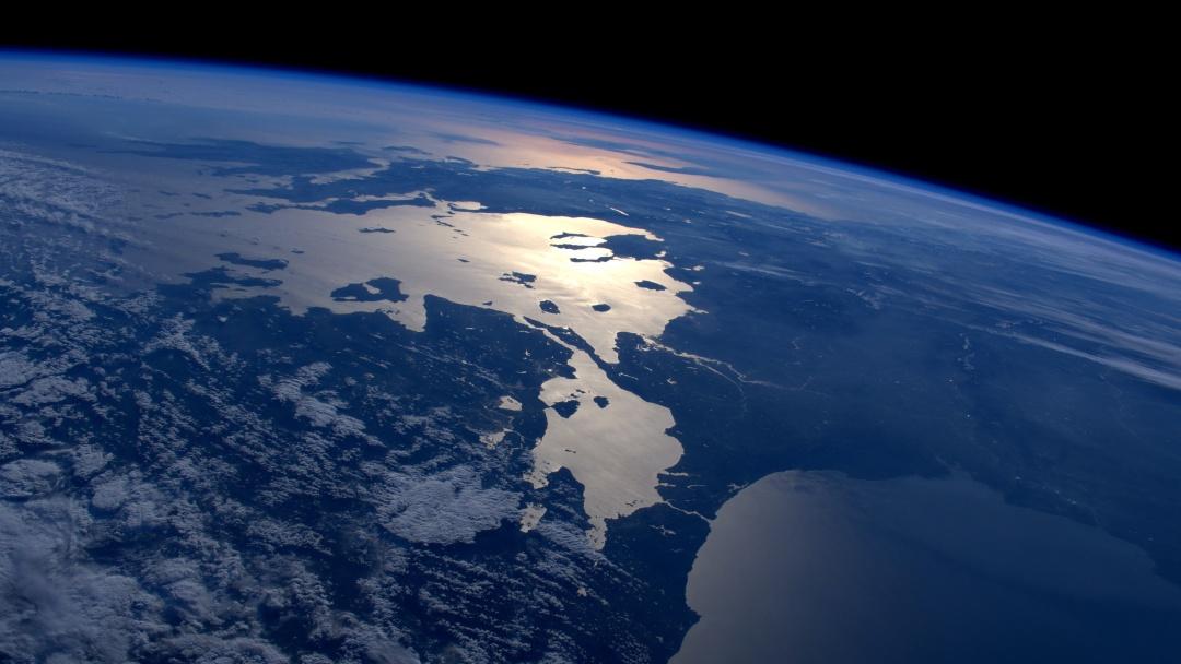 Балканы с космоса