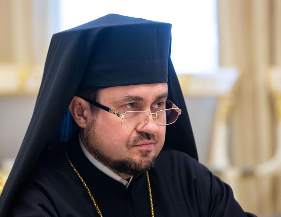 El Obispo Ilarion de Edmonton