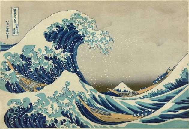 Велика хвиля в Канагаві