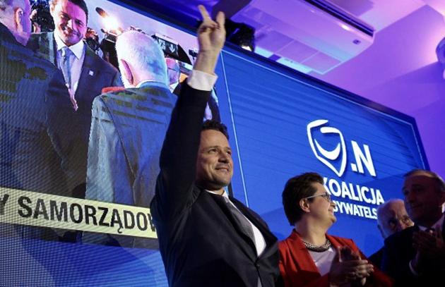 Рафал Тшасковський / Фото: twitter.com/trzaskowski Подробнее: https://eadaily.com/ru/news/2018/10/22/merom-varshavy-izbran-kandidat-ot-oppozicii