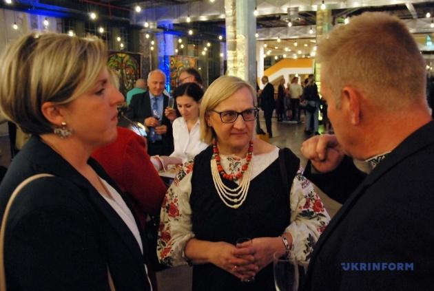 Пані Надія, представниця української діаспори з Мюнхена