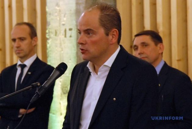 Почесний консул України в Лімбурзі Кріс Бекерс