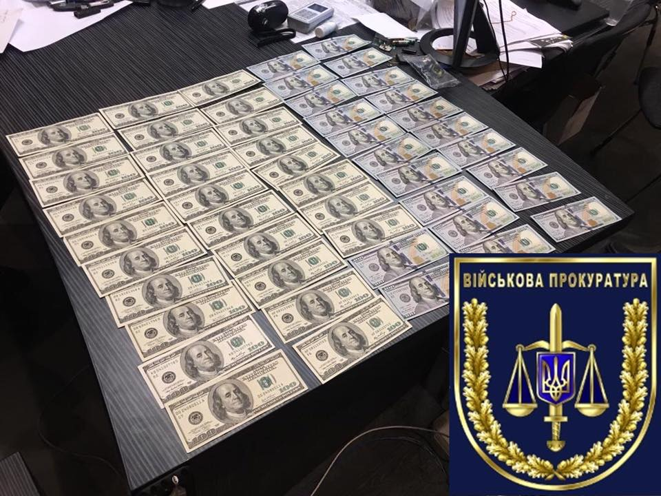Two police officers in Kyiv caught red-handed taking $50,000