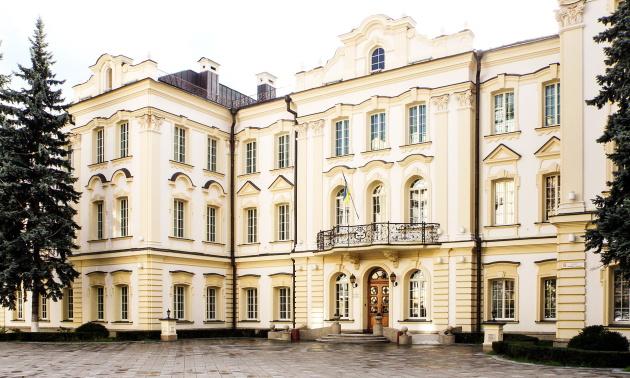 Кловський палац - резиденція Верховного суду України, 2011 р.