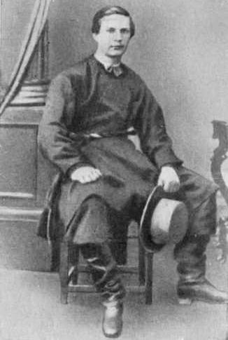М. В. Лисенко - студент Київського університету, 1861 р.