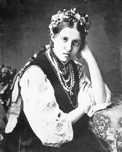 Друга дружина композитора Ольга Антонівна Липська