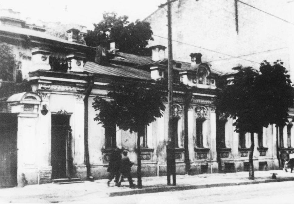 17А Будинок по вулиці Великій Підвальній, 15, де містилося його училище