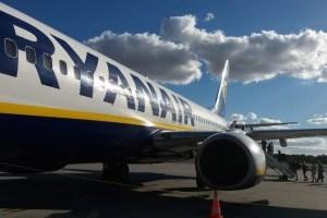 Ryanair запустил распродажу билетов на осень