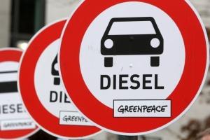 В Берлине приняли частичный запрет на движение дизельных автомобилей