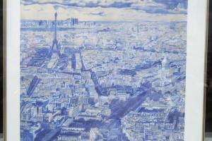 Auf Ausstellung von Zeichnungen von Suschtschenko in Warschau Erklärung zu seiner Unterstützung verabschiedet