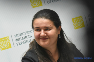 Ukrainian finance minister Markarova meets with representatives of U.S. embassy