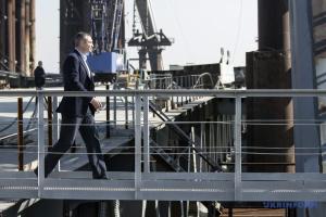 Кличко хочет открыть Подольский мост для авто до конца года