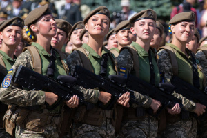 Fifty-eight thousand women serving in Ukrainian army