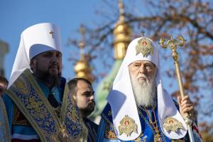 Турчинов пожелал Филарету Божьего благословения и побед