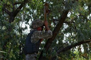 Ostukraine: Ukrainischer Soldat am Montag verwundet
