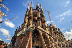Через масові протести в Барселоні закрили храм Саграда Фамілія