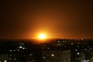 Израиль нанес удары по 15 целям в Газе