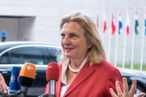 Кнайссль залишиться главою МЗС в перехідному уряді Австрії
