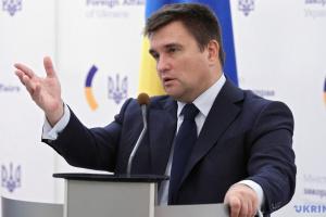 Klimkin: El Kremlin aprovecha los Acuerdos de Minsk para legitimar las pseudo-repúblicas en el Donbás
