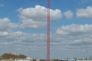 独立以降最も高いテレビ塔がドネツィク州に登場