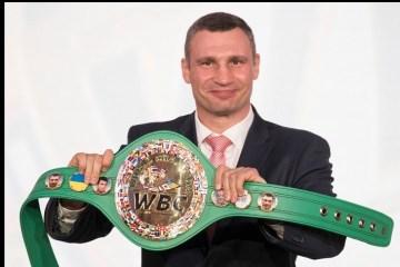 Boxen: Auf neuem WBC-Gürtel erscheint Flagge der Ukraine