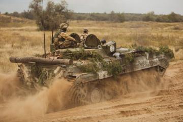 統一部隊作戦:1日の露占領者攻撃21回、ウクライナ兵死傷者なし