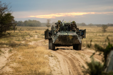 Militants launched six attacks on Ukrainian troops in Donbas in last day