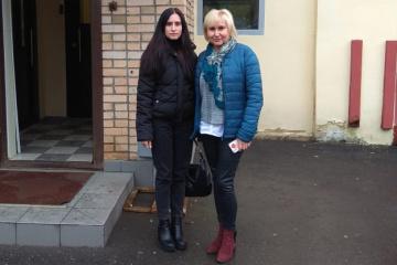 La esposa y la hija de Súshchenko reciben permiso para una larga cita con él