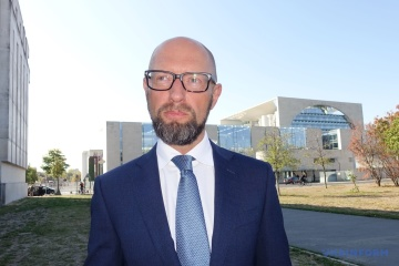 Former PM Yatsenyuk wishes Canada victory in elections for non-permanent members of UN Security Council
