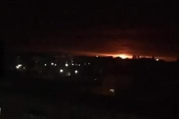 軍弾薬庫爆発:チェルニヒウ州の爆発圏における被害者情報なし:国防省