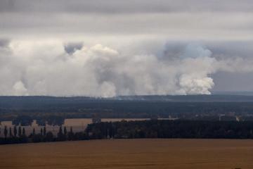 Des explosions dans des dépôts de munitions dans la région de Tchernihiv (photos, vidéos)