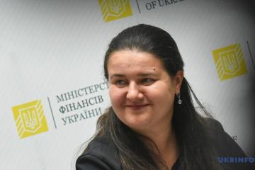 Ukrainian finance minister Markarova meets with representatives of U.S. embassy