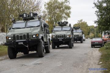 Les explosions sur le territoire de l'arsenal près d'Itchnya ont cessé