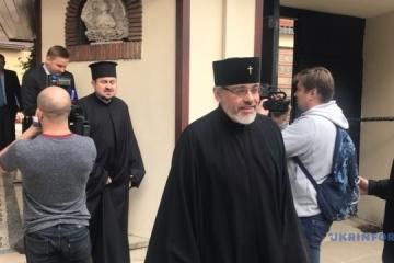 コンスタンティノープル総主教代理、聖会議に到着