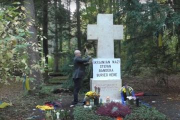La profanation de la tombe de Stepane Bandera : l'Ukraine exige qu'une poursuite pénale soit engagée