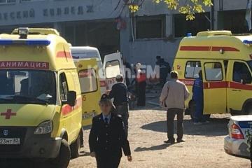 L'attentat à Kertch : réactions des autorités ukrainiennes