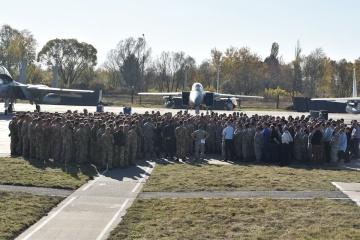 多国間空軍共同演習「クリア・スカイ」参加者、Su-27墜落被害者の追悼を実施