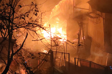 Emergency Service: 219 fires reported in Ukraine over past day