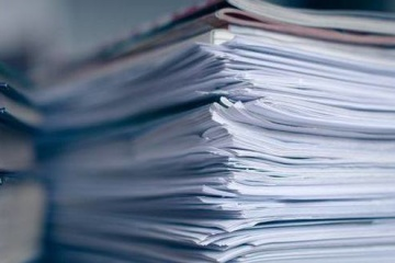 Ukrainian government to halve paper consumption
