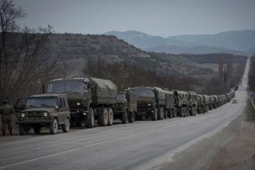 Russland brachte im April nach Donbass LKW mit Munition und gepanzerten Fahrzeuge – Aufklärungsdienst