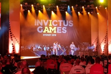 Ukraine wins two gold medals at Invictus Games
