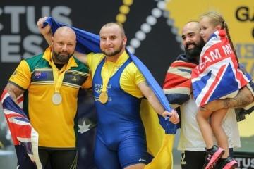 Ukraine wins third gold medal at Invictus Games