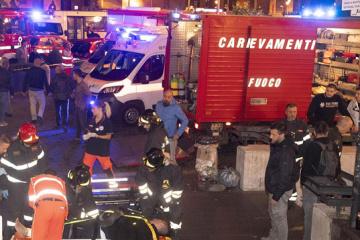 Außenministerium: Betroffene beim U-Bahn-Einsturz in Rom ins Krankenhaus eingeliefert