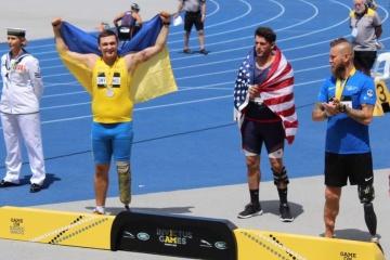 ATO veteran Yuriy Dmytrenko wins silver at Invictus Games