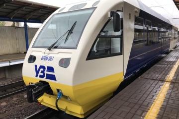 ボリスピリ空港行き特急電車、11月運行開始。移動時間35分、運賃80フリヴニャ
