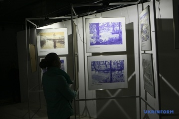 Presentan dibujos de Súshchenko en KyivPhotoWeek2018